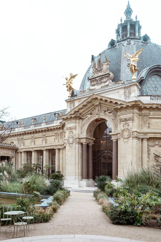 Corte interna e cupola del Petit Palais di Parigi
